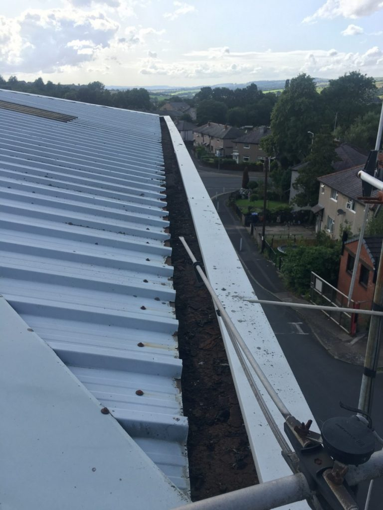 Commercial and Industrial Gutter Cleaning Burnley